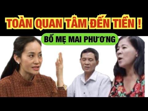Diễn viên Hạnh Thuý nói mẹ Mai Phương chỉ quan tâm đến tiền ! | Thuy To Official