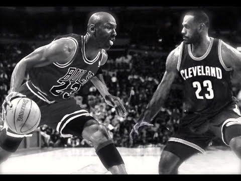 Who Is The Real King ? LeBron James Vs. Michael Jordan Comparison-HD