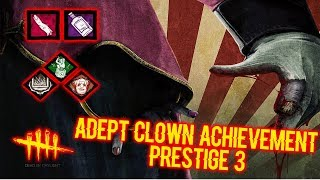 Download lagu Adept Clown Achievement Prestige 3 & Funny Dwight Game - Killer - Dead by Daylight