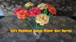 Download Video Cara Membuat Bunga Mawar dari Kertas MP3 3GP MP4