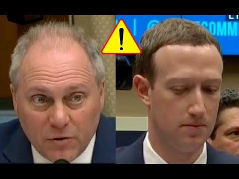 Congressman Scalise Acts Nice Then Hammers Mark Zuckerberg Over Facebook Shutting Down Republicans!