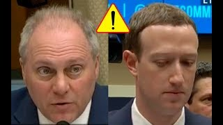 Congressman Scalise Acts Nice Then Hammers Mark Zuckerberg Over Facebook Shutting Down Republicans!