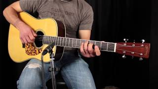 Martin D28CW Clarence White Review - How does it sound?