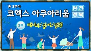 코엑스 아쿠아리움 완전정복 3부