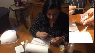 Yeni Protez Tırnak Uygulaması |Füzyon Akrilik Jel| Nasıl yapılır