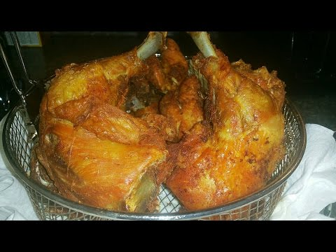 How To Fry Chicken / Ghana Style /My Recipe