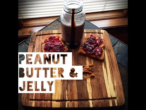Healthy Peanut Butter And Jelly Sandwich Recipe | How To Make Low Calorie PB&J