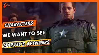 10 Characters That Can Appear in The Marvel's Avengers Game