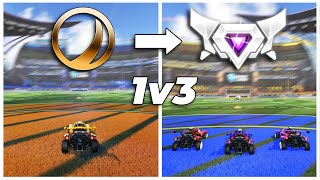 Pro Player 1v3's Every Rank in Rocket League: Which is the best?