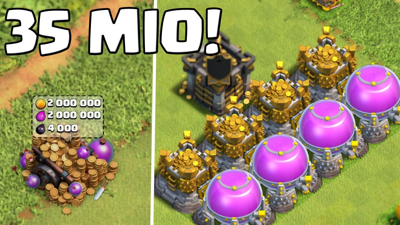 Stream 35 Mio Loot Clash Of Clans Let S Play Coc