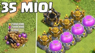 35 MIO LOOT! || CLASH OF CLANS || Let's Play CoC [Deutsch German HD]