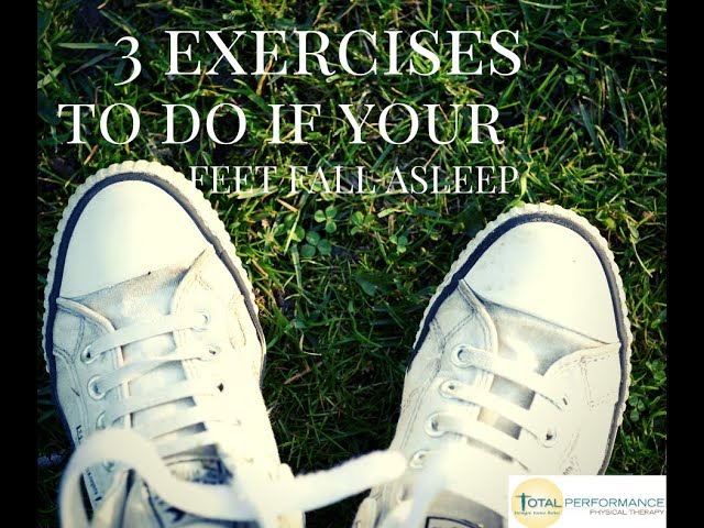 3 exercises to do if your feet fall asleep