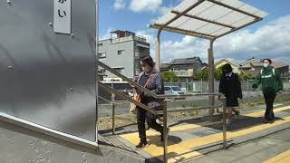 JR東海 飯田線 313系3000台「普通 豊川行」進行方向左側の車窓
