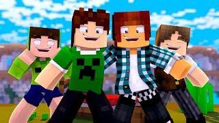 A VOLTA DA FAMILIACRAFT NO BEDWARS !! - Minecraft