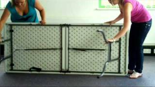 6ft Foldable Trestle Table Cybercheckout