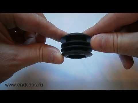 Заглушка круглая для трубы с наружным диаметром 40
