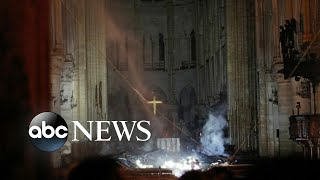French official shares latest details of Notre Dame fire