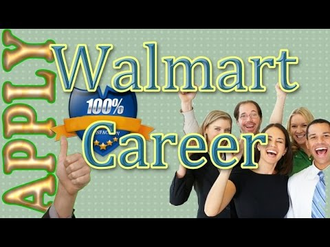 Apply For Walmart Job Online