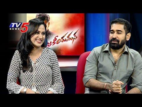 Yaman Movie Team Exclusive Interview | Vijay Antony | Miya George | Ravinder Reddy | TV5 News