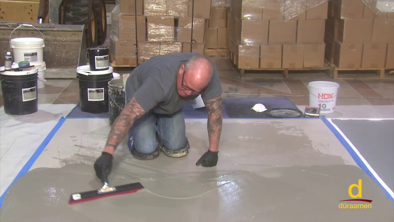 How To install Polished Concrete Over Gypsum Subfloor | Part 1