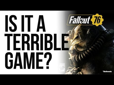 How to tell if Fallout 76 is a TERRIBLE GAME? thumbnail