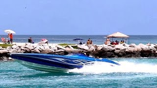 Haulover Beach Boats 4-19-14 Compilation