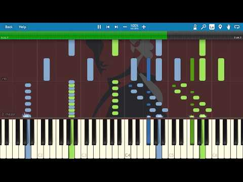 Mozart - K. 448 Sonata for Two Pianos in D major (Synthesia)