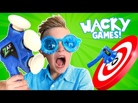 Wacky Games Gauntlet!!! BORED Games NERF Obstacle Course | KIDCITY