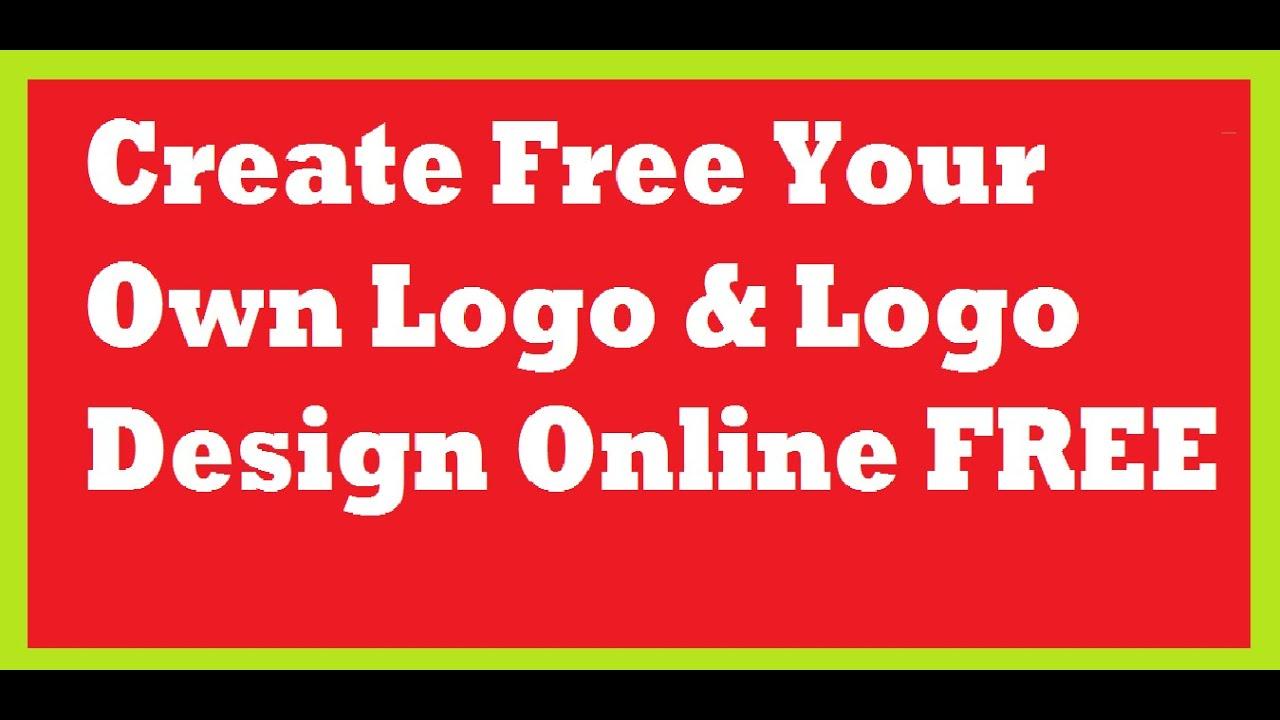 Create Free Your Own Logo  Logo Design Online FREE