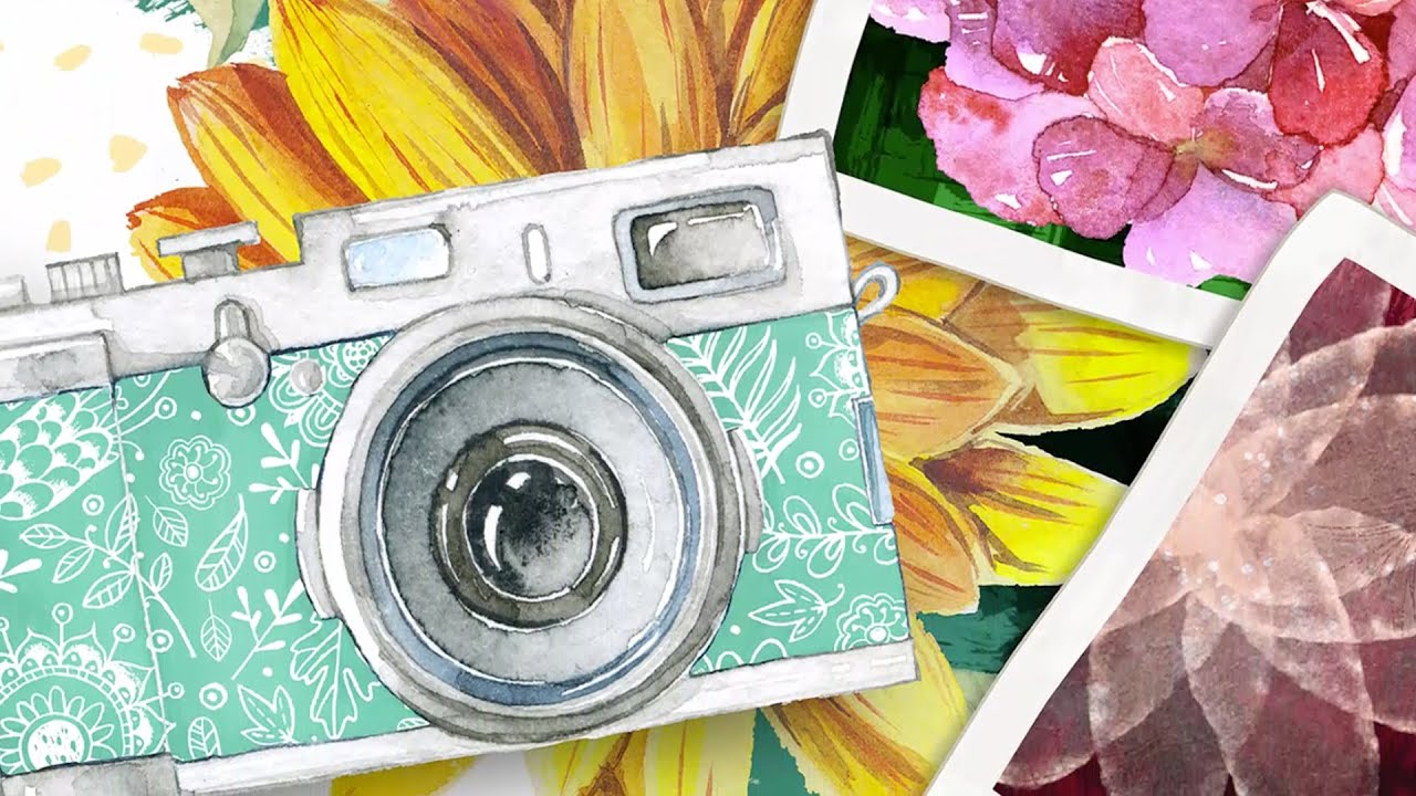 how to get watercolour effect photoshop