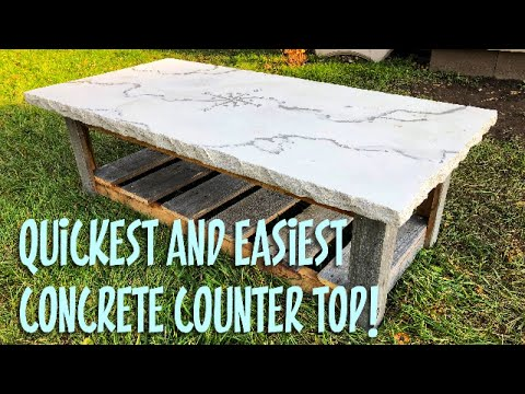 how-to-make-a-concrete-counter-top-in-1-hour!