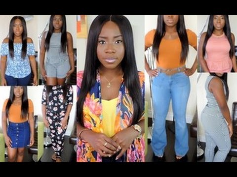 Summer Fashion Trends 2016 || Summer Try-On Haul || Flared Jeans, Co-ord Sets, Denim Skirt