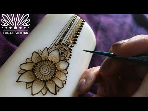 Latest Sunflower Mehndi Design Simple Stylish Mehndi Henna Mehndi