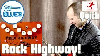 Movall Rock Highway 3 in 1 Overdrive, Distortion, & Delay Pedal Play Test