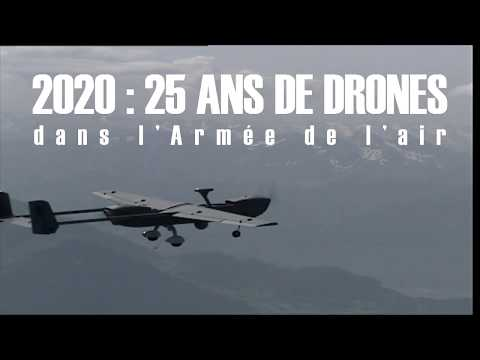 2020 : 25 ans de drones dans l'Armée de l'air