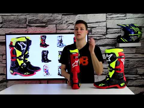 Beste Modeka RAMBLE Herren Motorradstiefel Sneaker Leder
