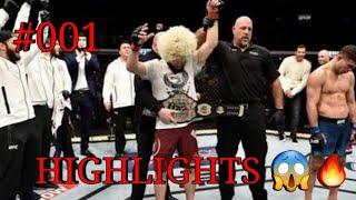 Khabib Nurmagomedov |UFC Highlights|