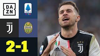 Ramsey und Ronaldo retten Juve: Juventus - Hellas Verona 2:1 | Serie A | DAZN Highlights