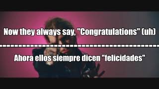 Post Malone - Congratulations | Lyrics + Subtitulos al Español + Video