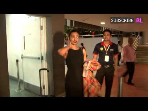 Radhika Apte spotted at Mumbai airport