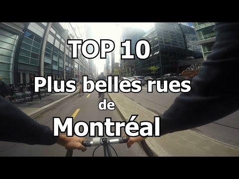 Top 10 plus belles rues de Montréal