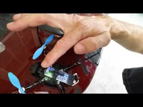 Blade Nano QX2 FPV Mod 4 Electron Pro 600 mahr