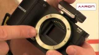 fotoapart Samsung NX210 - video pedstaven