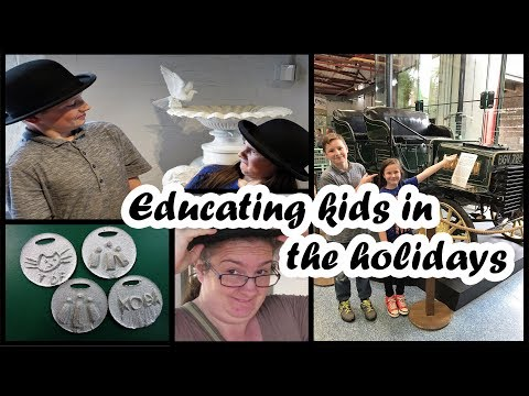 Educating kids in the holidays - Pt1