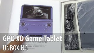 GPD XD Unboxing (Gaming console & tablet)