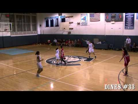 5'7'' POINT GUARD LAUREN DINES #33 TREVOR DAY SCHOOL NYC 2016