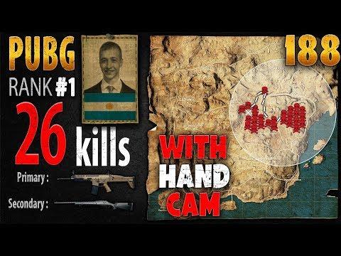 PUBG Rank 1 - p0me 26 kills [SA] SOLO TPP - PLAYERUNKNOWN'S BATTLEGROUNDS #188