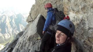 Climbing the Grand Teton, Owen-Spalding Route (ACMNP 2012)