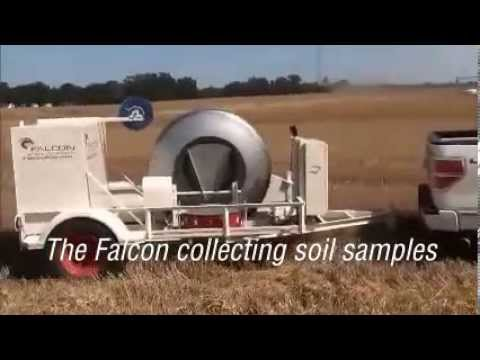 Falcon Automated Soil Sampling in Action