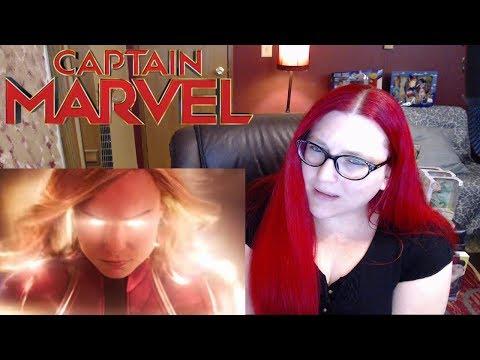 CAPTAIN MARVEL Special Look Trailer Reaction: BEST YET?